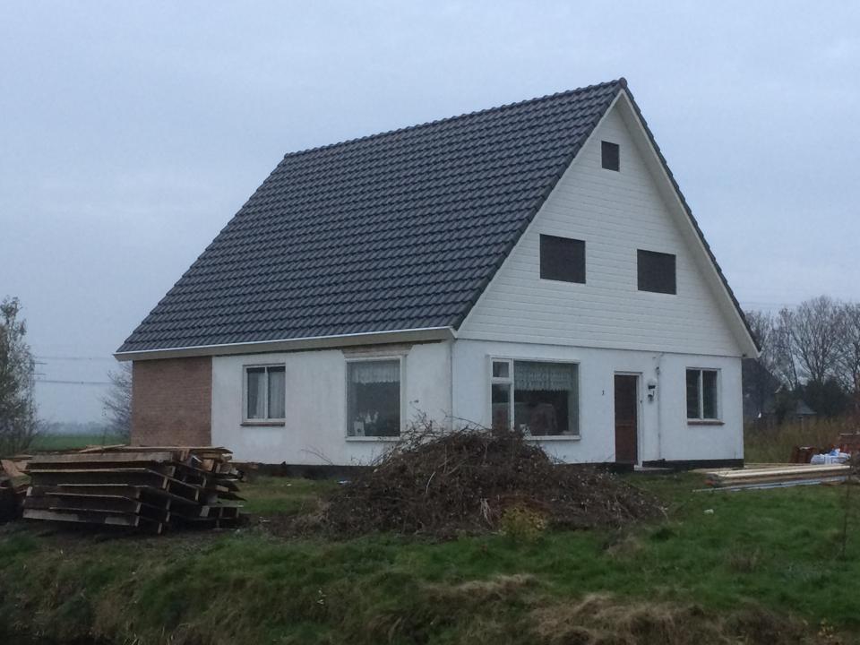 Verbouwing woning Heerenveen