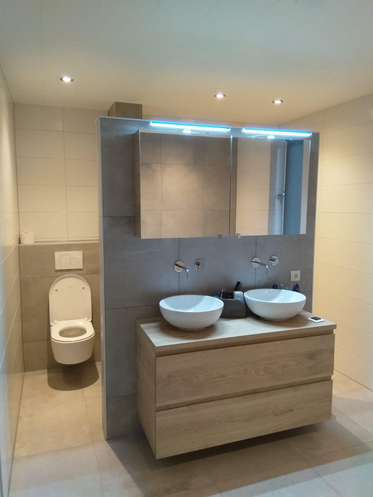 Renovatie Nieuwbouw Badkamer